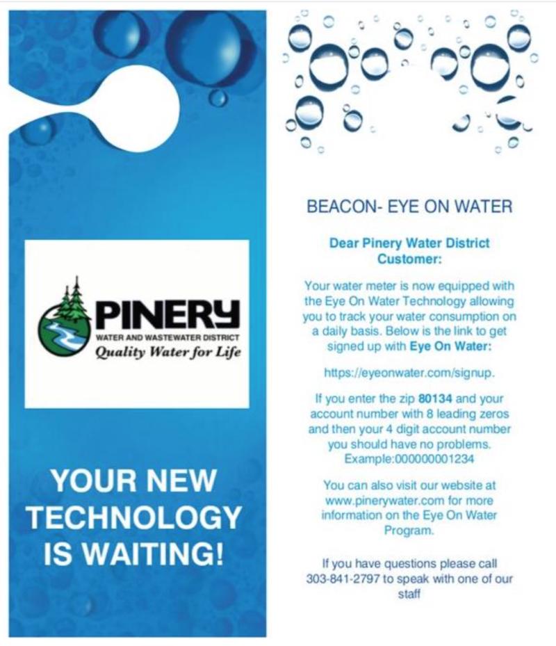 Beacon Eye On Water Door Hanger - Pinery Water Technology